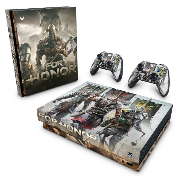 Xbox One X Skin - For Honor