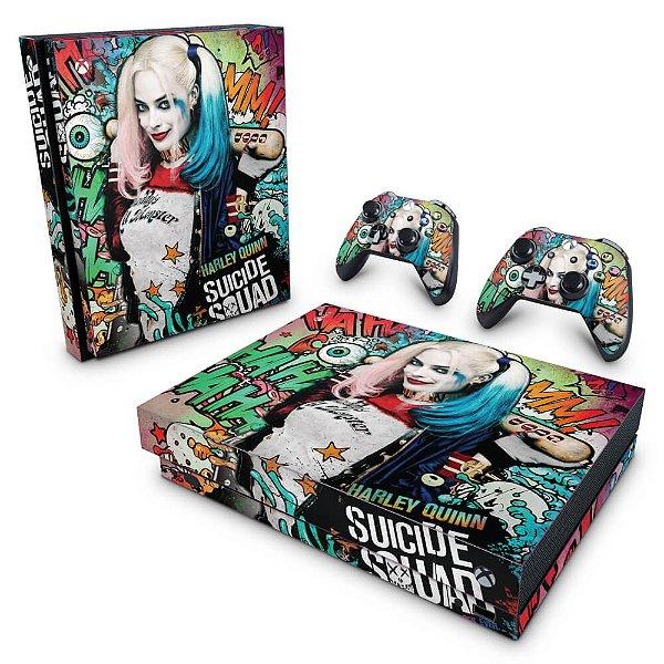 Xbox One X Skin - Esquadrão Suicida #A