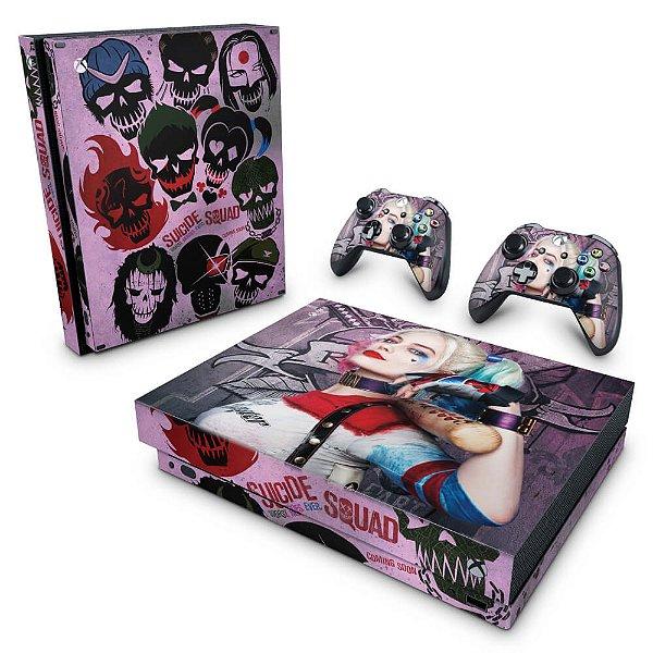 Xbox One X Skin - Esquadrão Suicida #C