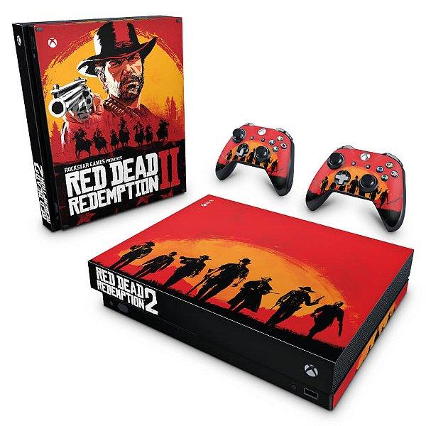 Xbox One X Skin - Red Dead Redemption 2