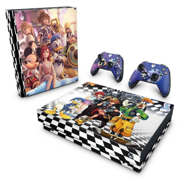Xbox One X Skin - Kingdom Hearts
