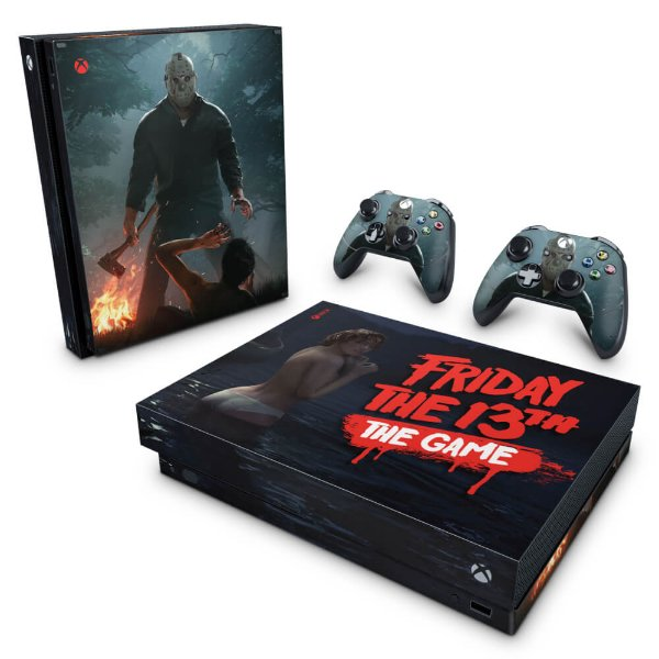 Xbox One X Skin - Friday the 13th The game - Sexta-Feira 13