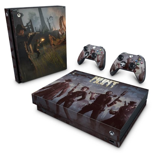 Xbox One X Skin - Hunt: Horrors of the Gilded Age
