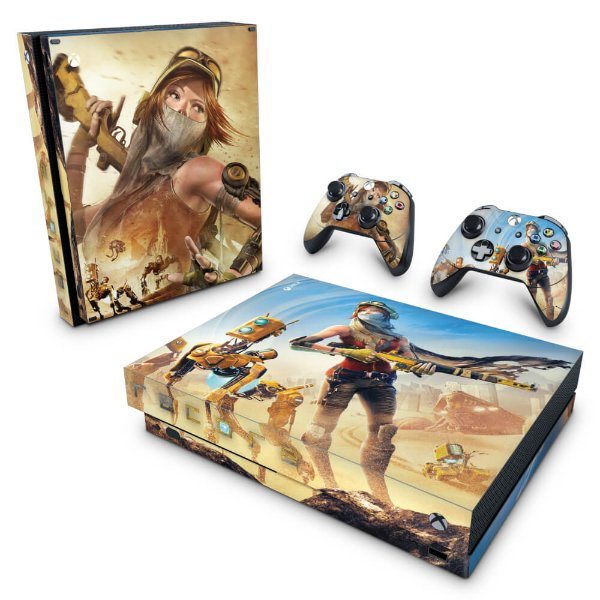 Xbox One X Skin - Recore