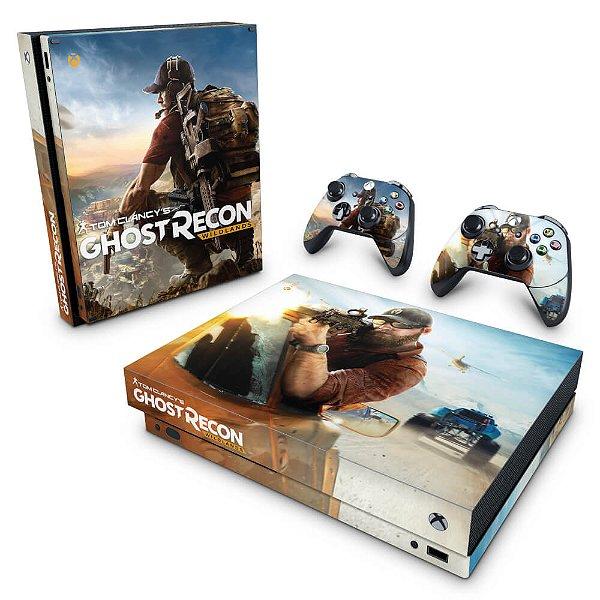 Xbox One X Skin - Ghost Recon Wildlands
