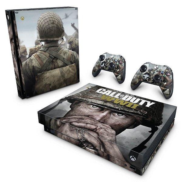 Xbox One X Skin - Call of Duty WW2