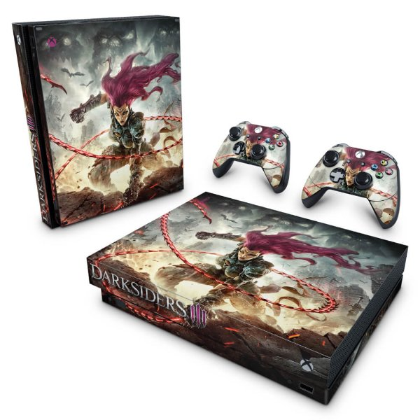 Xbox One X Skin - Darksiders 3