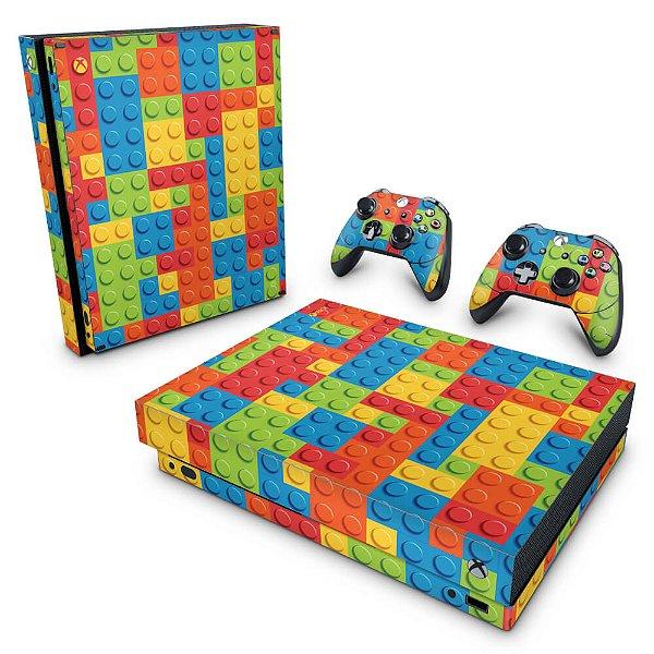Xbox One X Skin - Lego