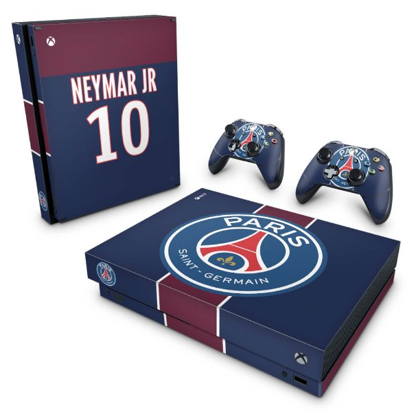 Xbox One X Skin - Paris Saint Germain Neymar Jr PSG