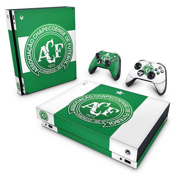Xbox One X Skin - Chapecoense Chape