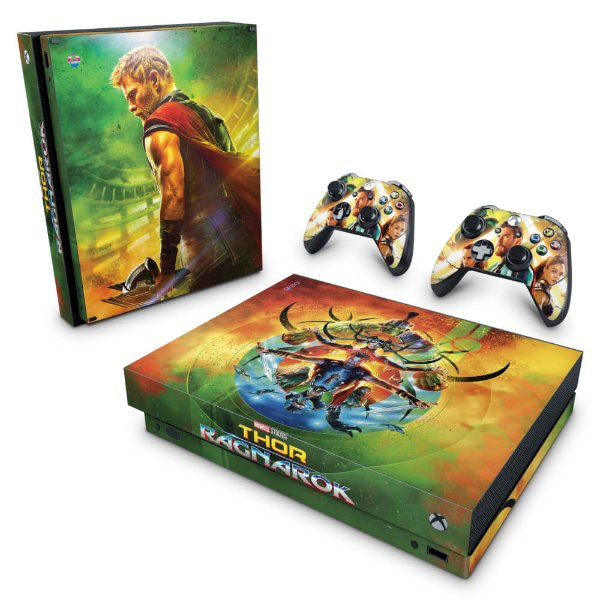 Xbox One X Skin - Thor Ragnarok