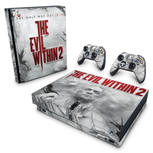 Xbox One X Skin - The Evil Within 2