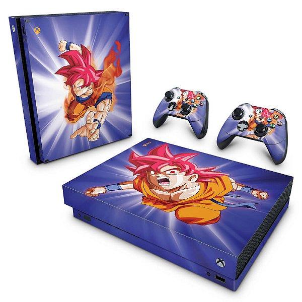 Xbox One X Skin - Dragon Ball Super Goku
