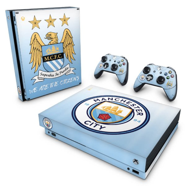 Xbox One X Skin - Manchester City FC