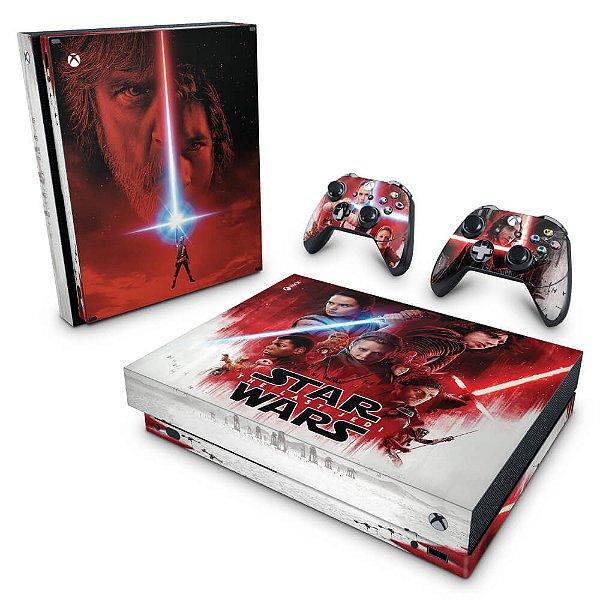 Xbox One X Skin - Star Wars The Last Jedi
