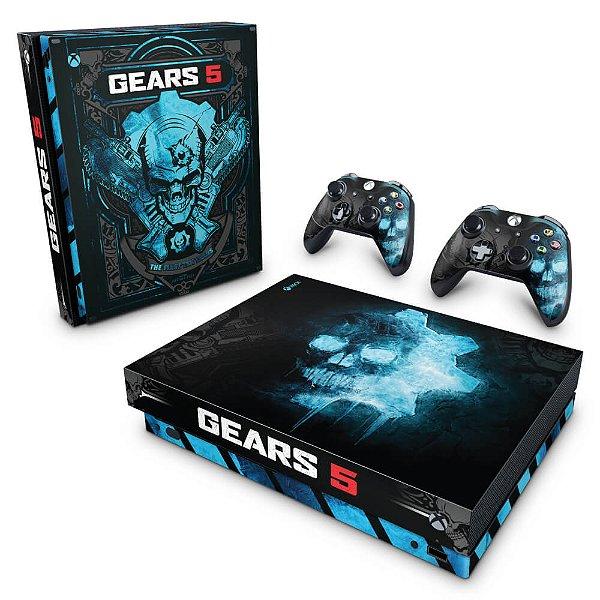 Xbox One X Skin - Gears 5