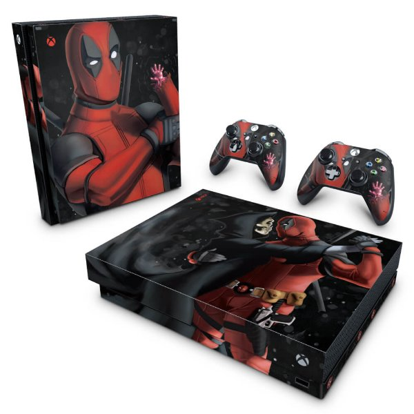 Xbox One X Skin - Deadpool 2