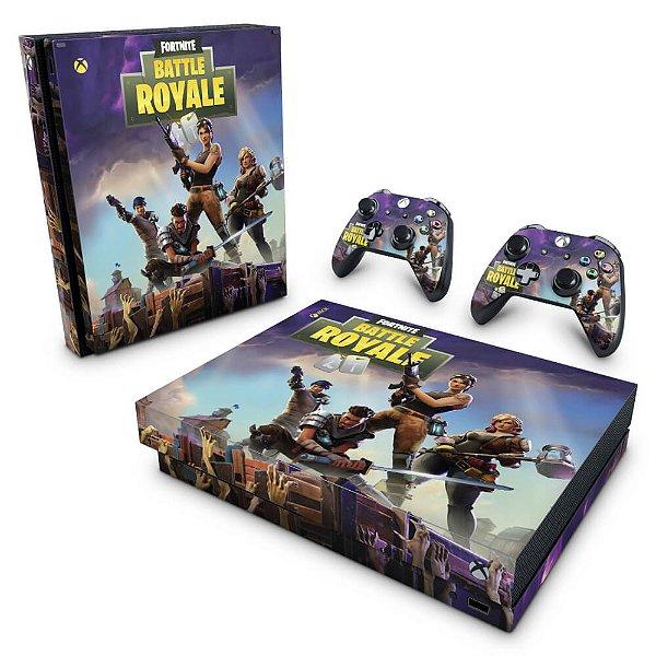 Xbox One X Skin - Fortnite Battle Royale