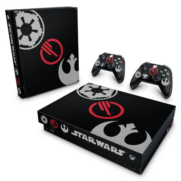 Xbox One X Skin - Star Wars Battlefront 2 Edition