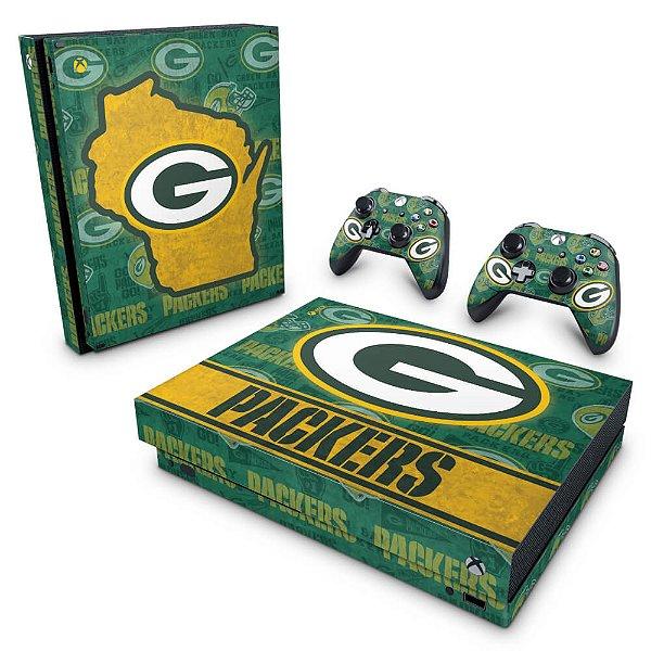 Xbox One X Skin - Green Bay Packers NFL