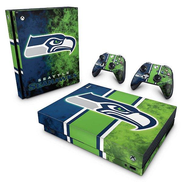 Xbox One X Skin - Seattle Seahawks - NFL