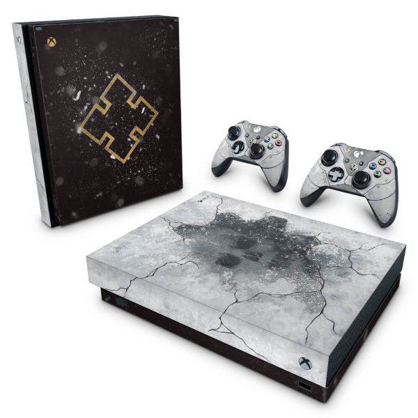 Xbox One X Skin - Gears 5 Special Edition Bundle