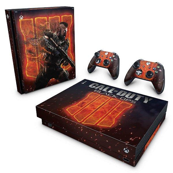Xbox One X Skin - Call of Duty Black ops 4