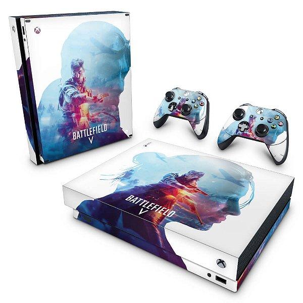 Xbox One X Skin - Battlefield V