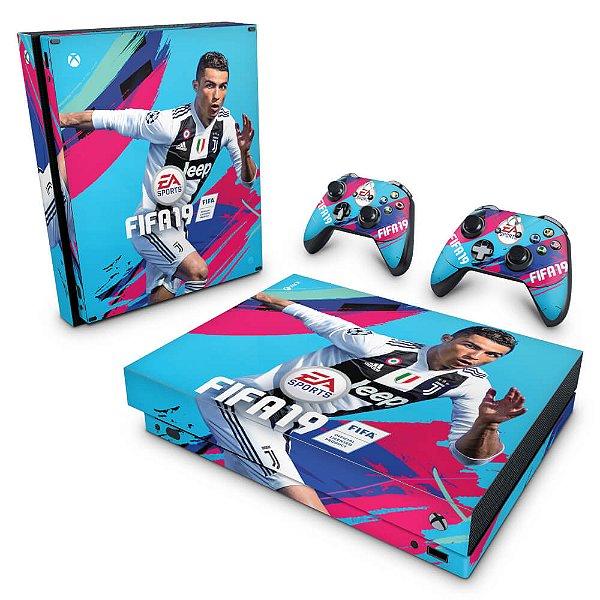 Xbox One X Skin - FIFA 19