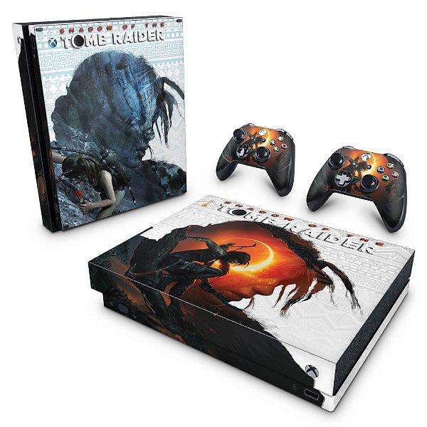 Xbox One X Skin - Shadow Of The Tomb Raider