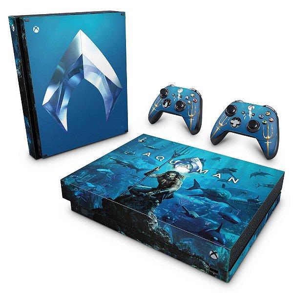 Xbox One X Skin - Aquaman