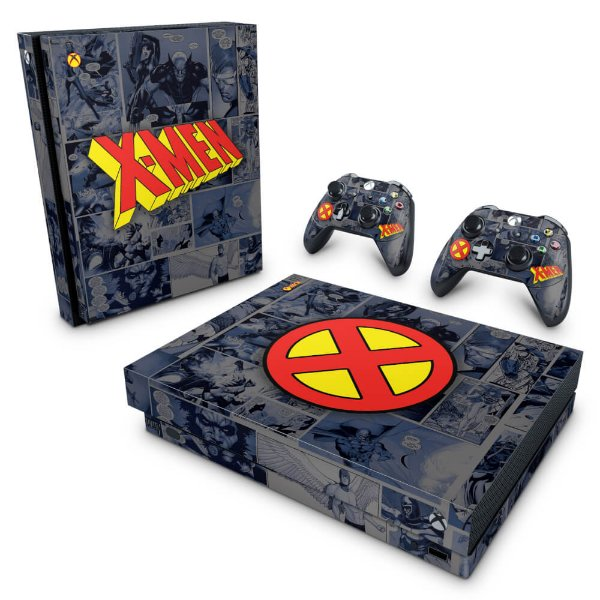 Xbox One X Skin - X-Men Comics