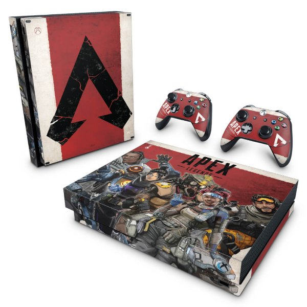 Xbox One X Skin - Apex Legends