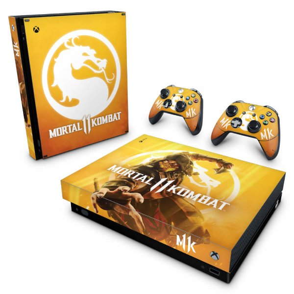 Xbox One X Skin - Mortal Kombat 11