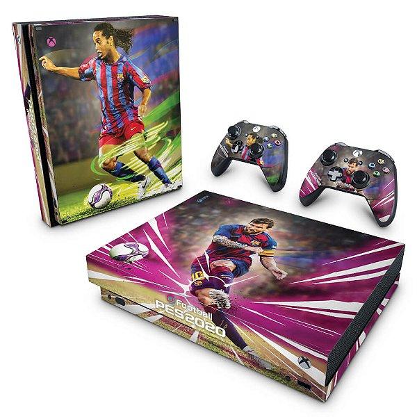 Xbox One X Skin - PES 2020