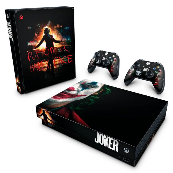Xbox One X Skin - Joker Coringa Filme