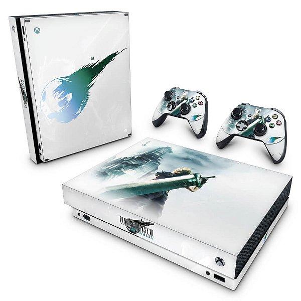 Xbox One X Skin - Final Fantasy 7 Remake