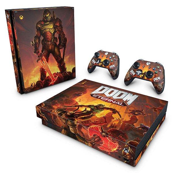 Xbox One X Skin - Doom Eternal