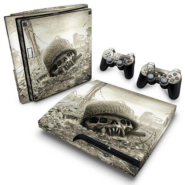 PS3 Slim Skin - Resistance Fall of Man