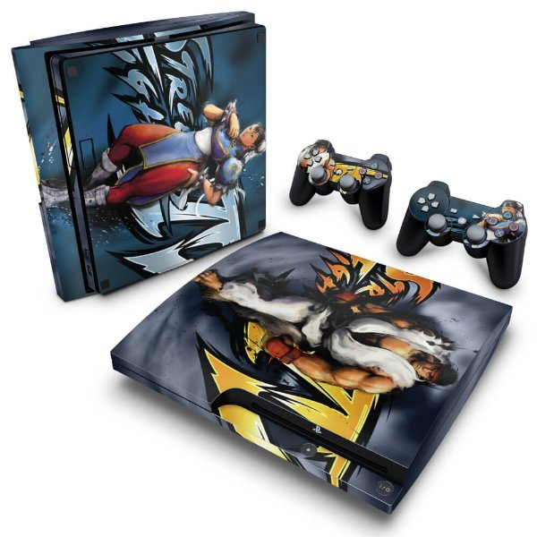 PS3 Slim Skin - Street Fighter 4