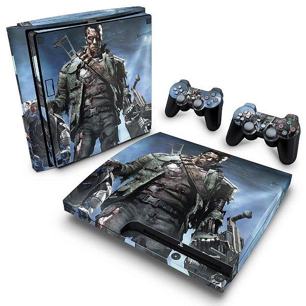PS3 Slim Skin - Terminator 3 The Redemption