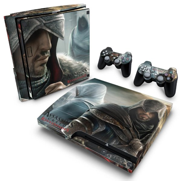 PS3 Slim Skin - Assassins Creed Revelations