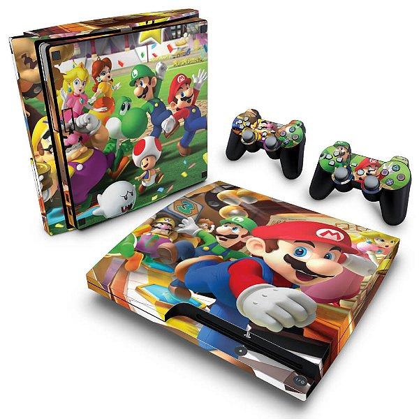 PS3 Slim Skin - Super Mario