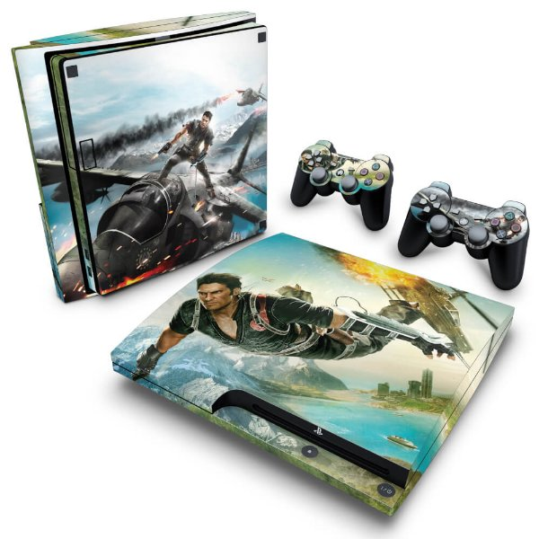 PS3 Slim Skin - Just Cause 2