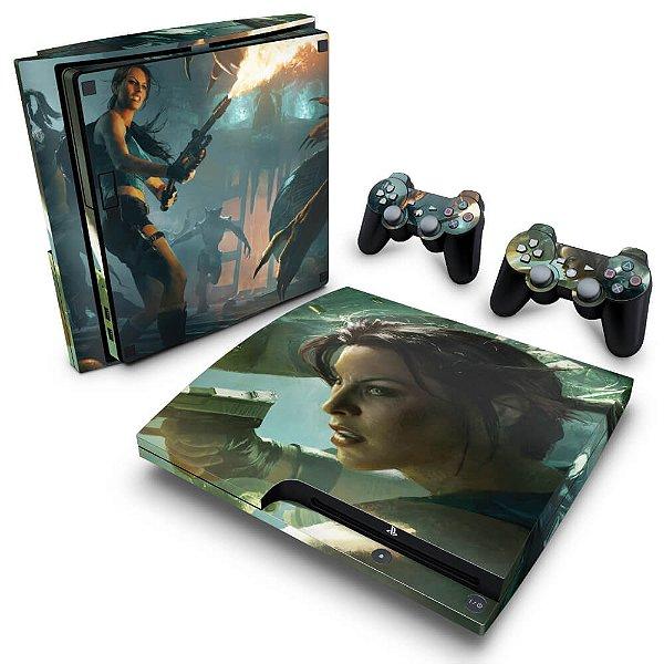 PS3 Slim Skin - Lara Croft and the Guardian of Light