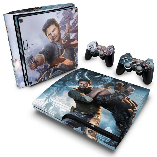 PS3 Slim Skin - Uncharted 2