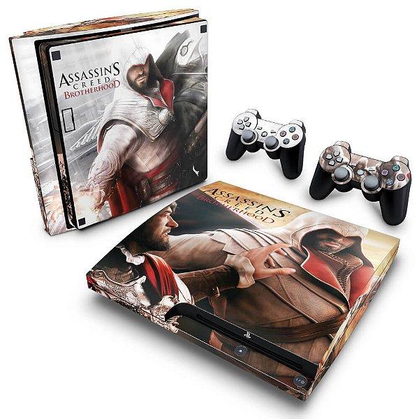 PS3 Slim Skin - Assassins Creed Brotherhood #B