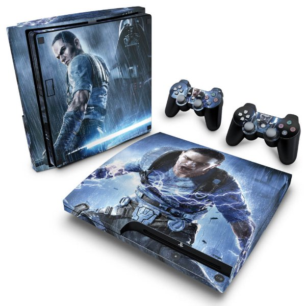 PS3 Slim Skin - Star Wars The Force Unleashed