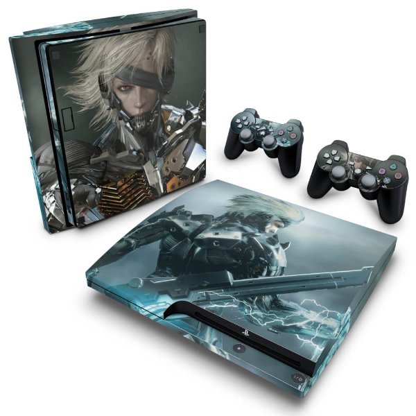 PS3 Slim Skin - Metal Gear Solid Rising
