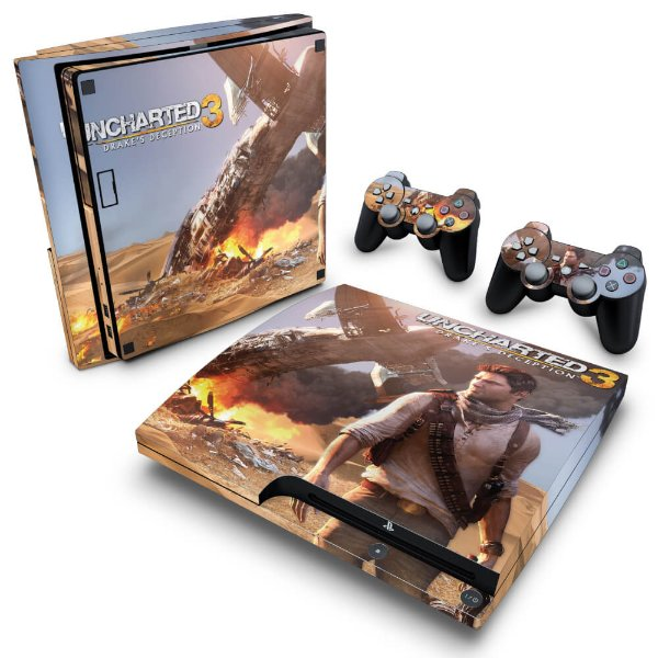 PS3 Slim Skin - Uncharted 3